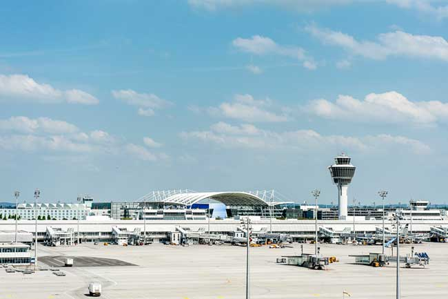 In 2016, Munich Airport (MUC) handled 42, 216, 309 passengers.